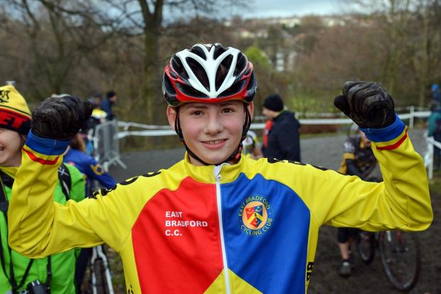 Euan Cameron, celebrating his victory at Peel Park, went on to win the National Trophy Series