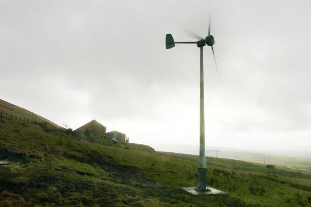 A wind turbine is proposed for Denholme Business Centre