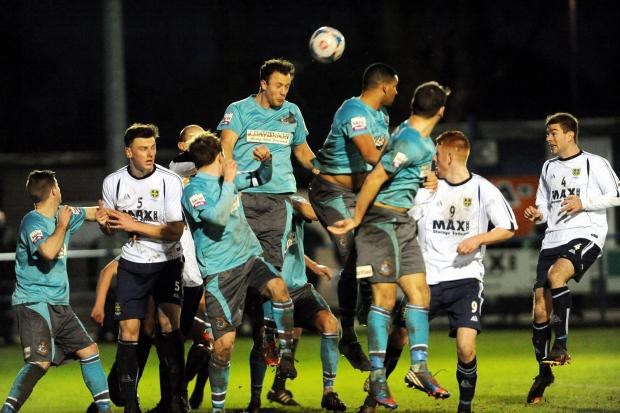 Guiseley last played at home on December 21 against Altrincham