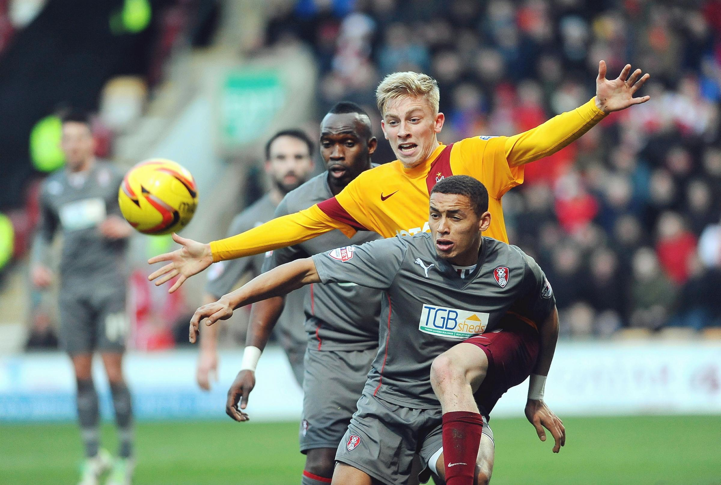 Rookie Bantams striker McBurnie enjoying 'whirlwind' start to career