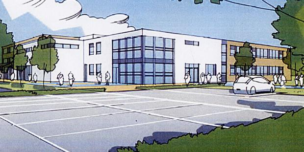 An artist's impression of the new Grace Academy