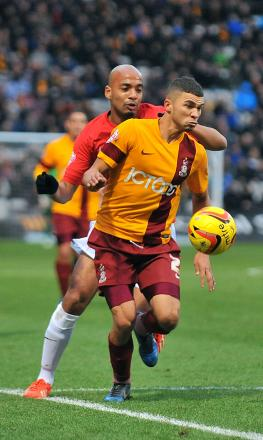 WANTED MAN: The January transfer window has only just opened but City have already turned down a bid for striker Nahki Wells as transfer speculation hots up