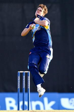 Iain Wardlaw took three wickets against a Canterbury XI