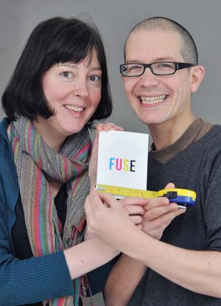 Sarah Faraday and James Birchall of Fuse Art Space