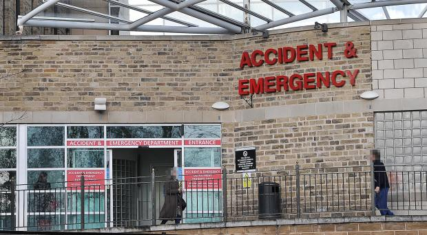 Accident & Emergency at Bradford Royal Infirmary, where staffing issues have been highlighted