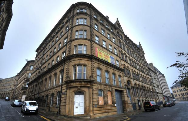 The buildings at 47-53 Well Street which are now set to be converted into a hotel after the Council decision