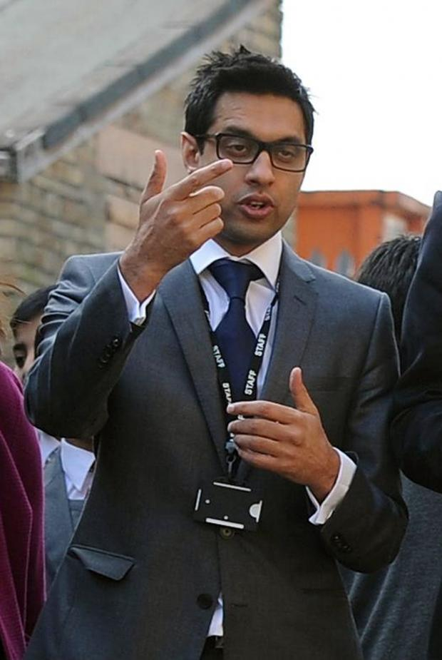 Bradford Telegraph and Argus: Sajid Hussain Raza