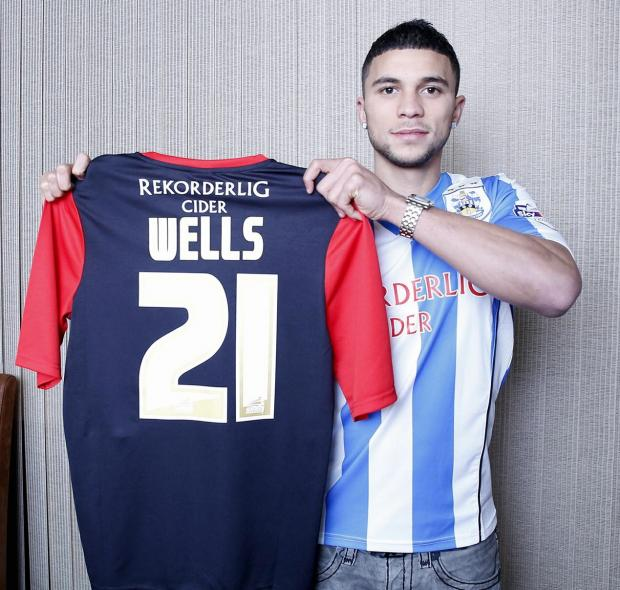 Nahki Wells scored the winner on his debut for Huddersfield - Picture: Huddersfield Town