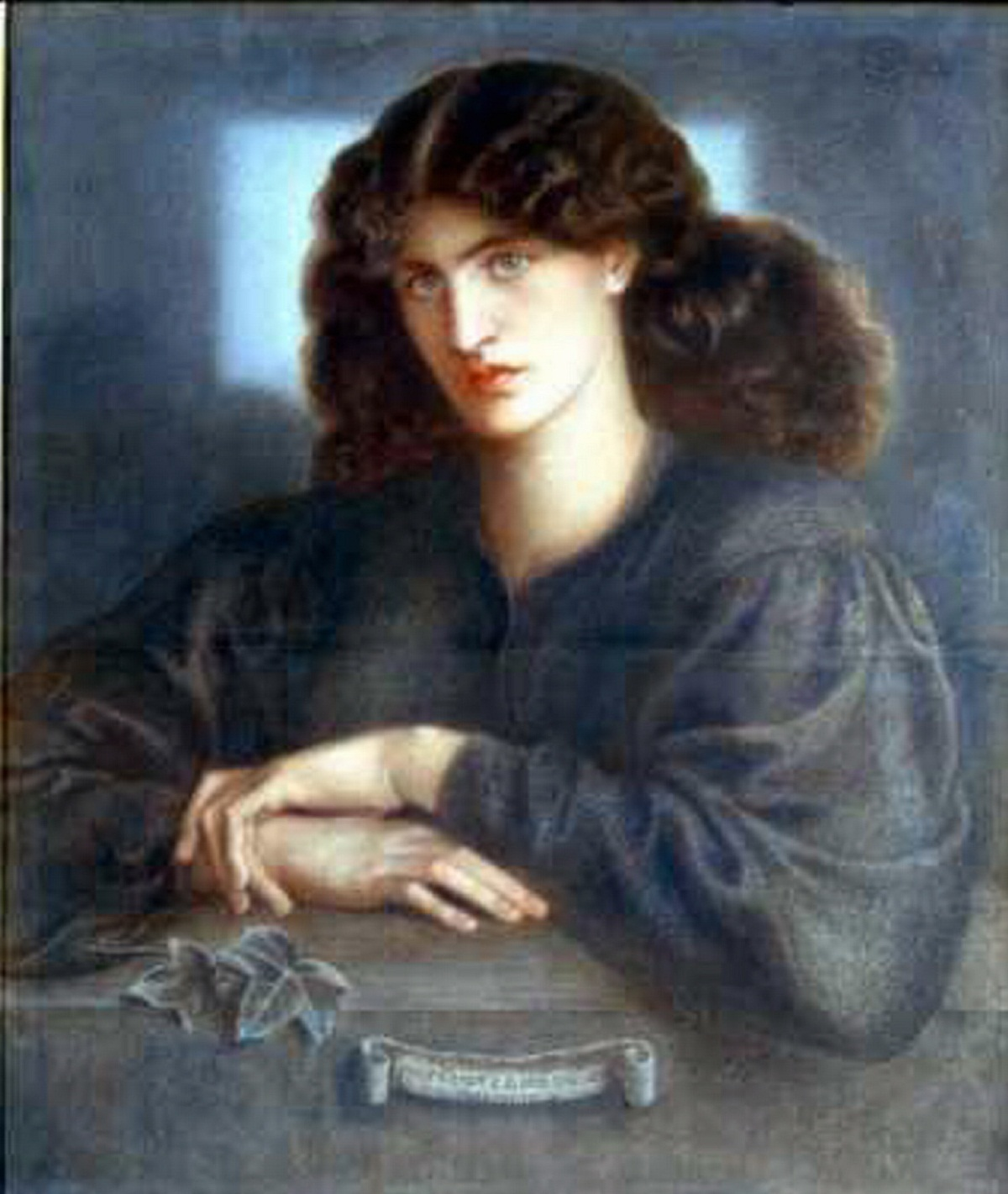 Rare works by Rossetti will be exhibited at Cartwright Hall in Bradford, including this painting of hi