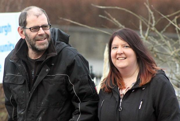 Bradford Telegraph and Argus: Michael Irvine and Louise Cogle, from Shetl