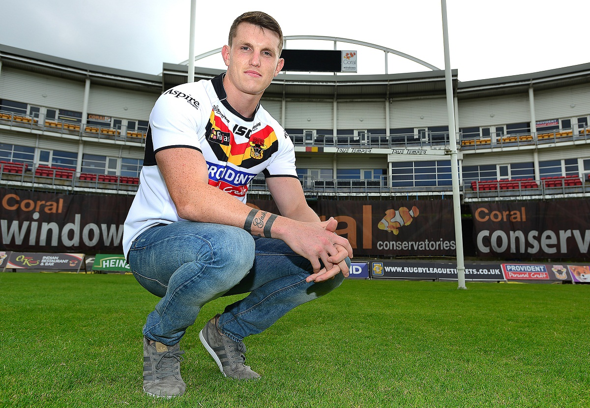 Lee Gaskell is one of six newcomers who are set to make their Bulls debut on Sunday at home to Hull FC