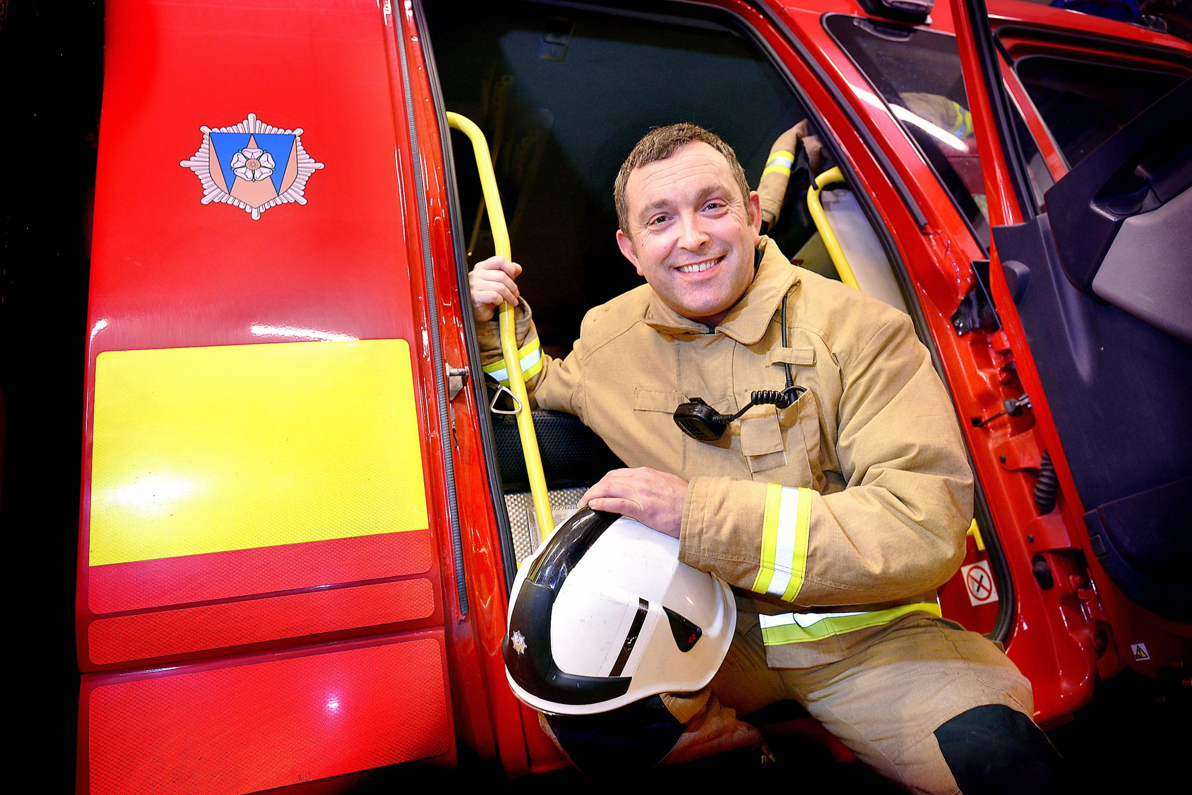 Firefighter Mick Titmarsh has been shortlisted for an award