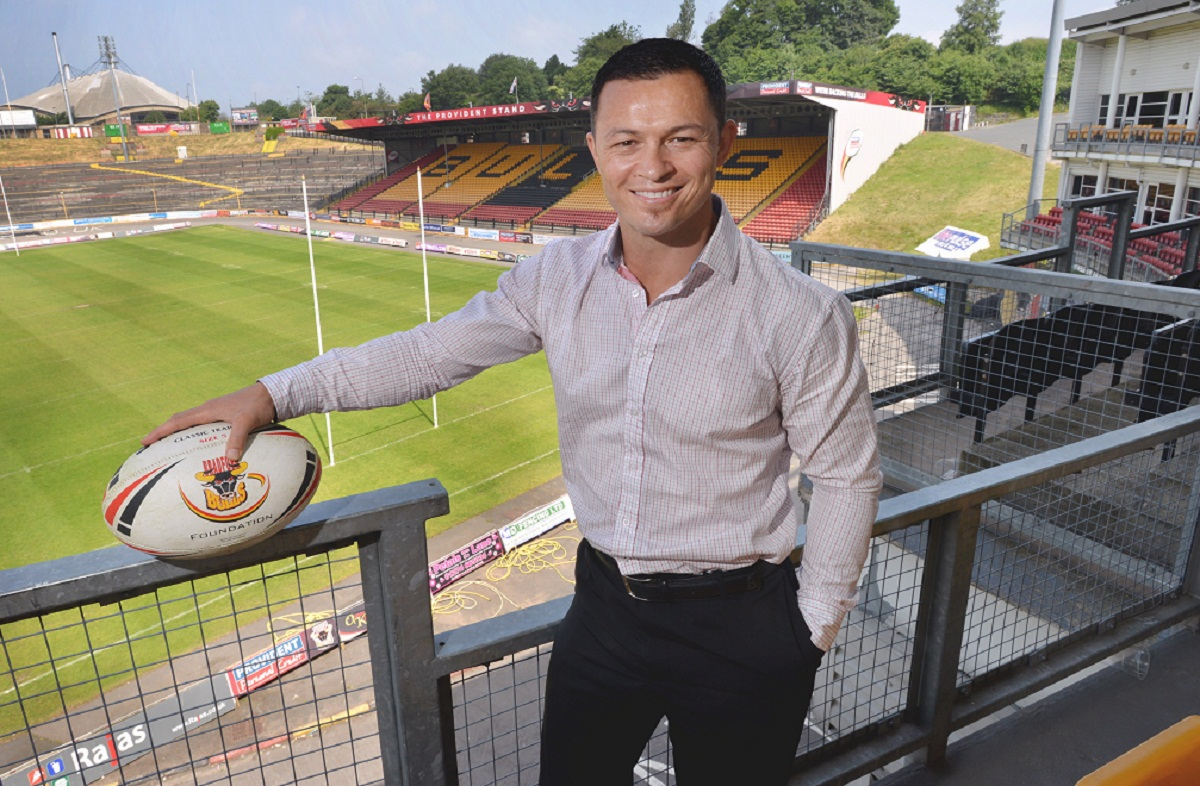 Bulls chief executive Robbie Hunter-Paul