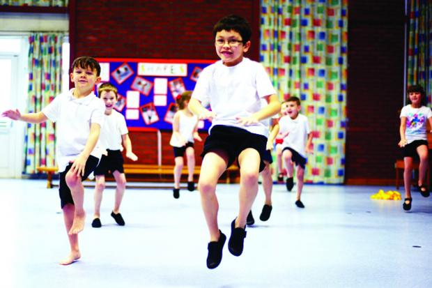 Teachers learn skills from PE experts
