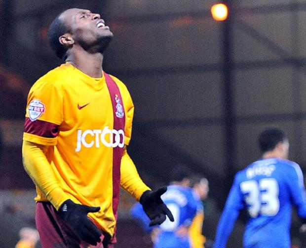 Bradford Telegraph and Argus: Kyel Reid has left City and joined Preston on a two-year deal