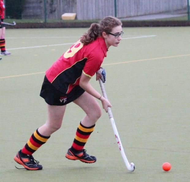 Maddy Silberberg excelled in a losing cause for the Bingley ladies second team