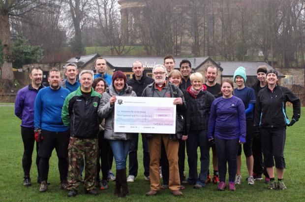 Saltaire Commando Fit raised £905 for Yorkshire Air Ambulance