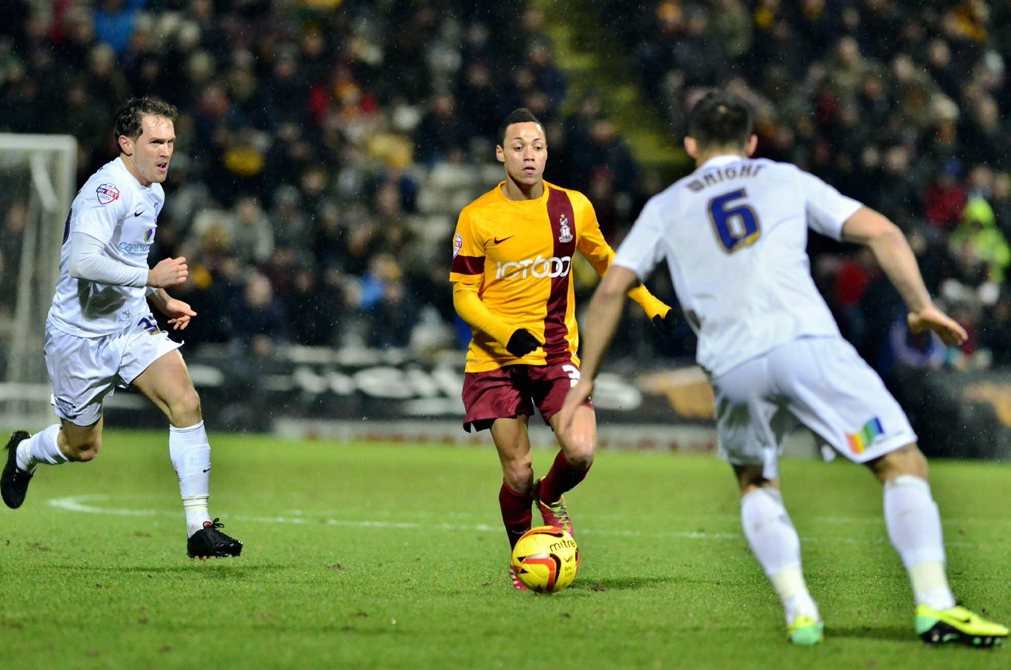 Davies delivers Bradford City clean sheet after referee takes centre stage