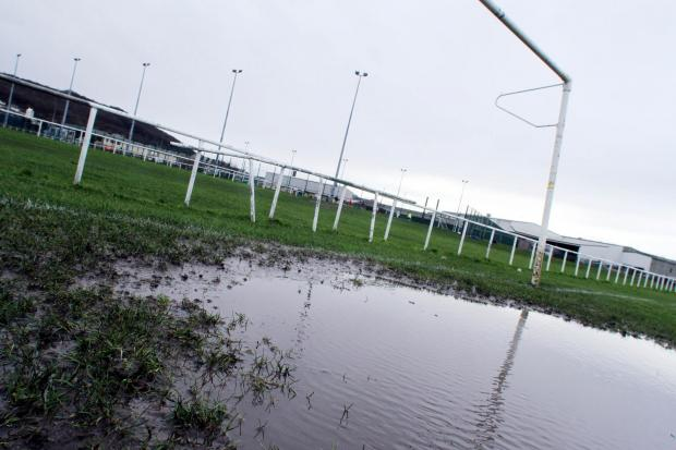 Waterlogging has been an ongoing problem over the last few weeks