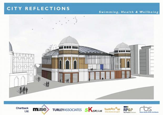 How the leisure centre proposal for the Odeon might look