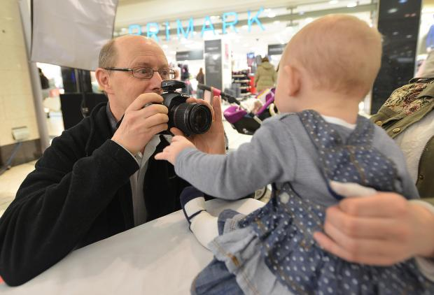 Neil Macbeth takes the photos happy – and some unhappy – tots at the Kirkgate Centre
