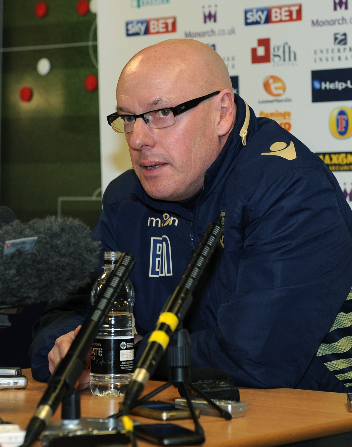 Leeds United manager Brian McDermott is being given massive backing by their supporters