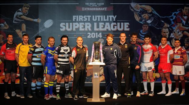 Bulls skipper Matt Diskin was centre stage at today's Super League launch in Manchester