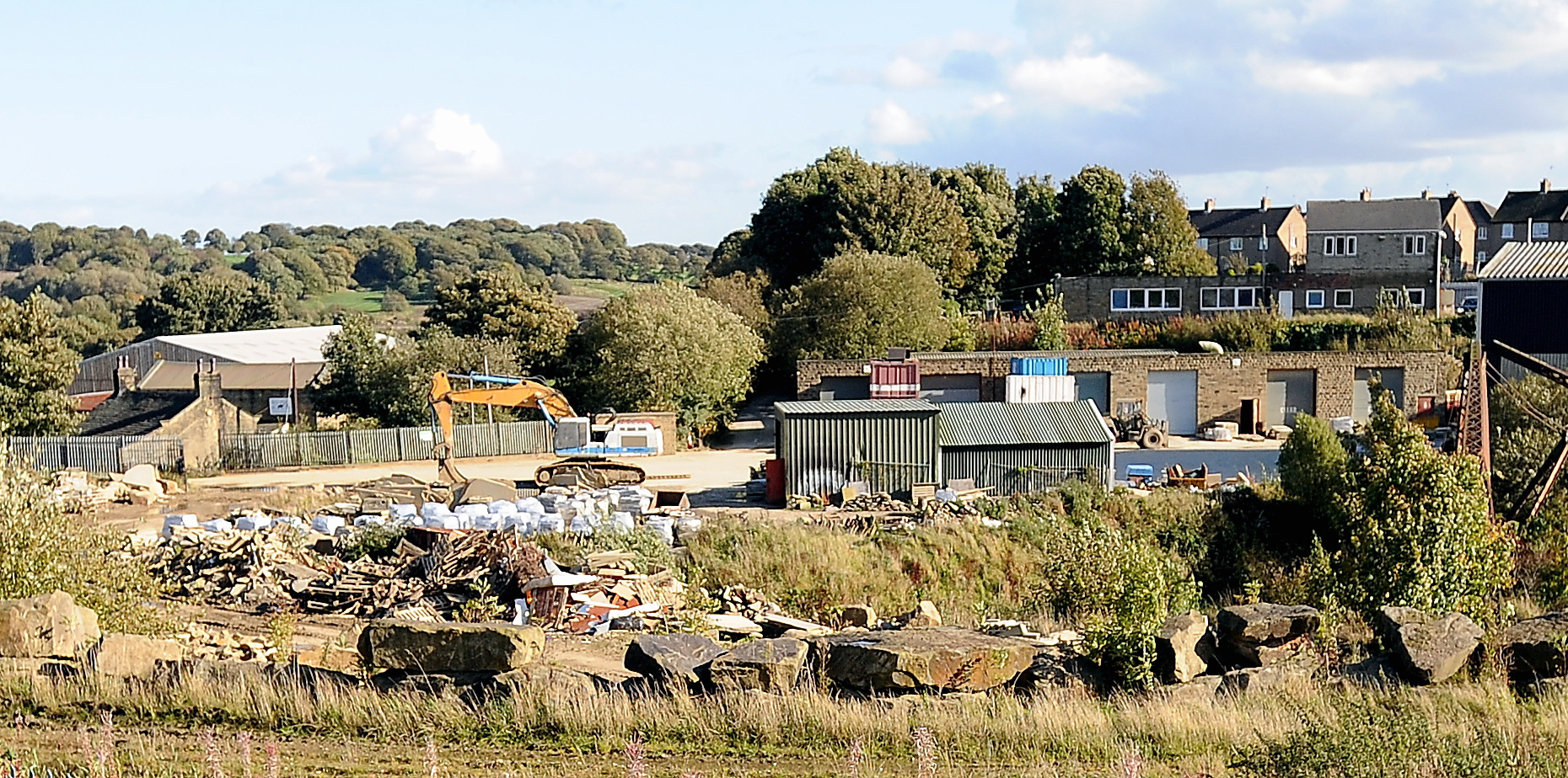 The Fagley Quarry site