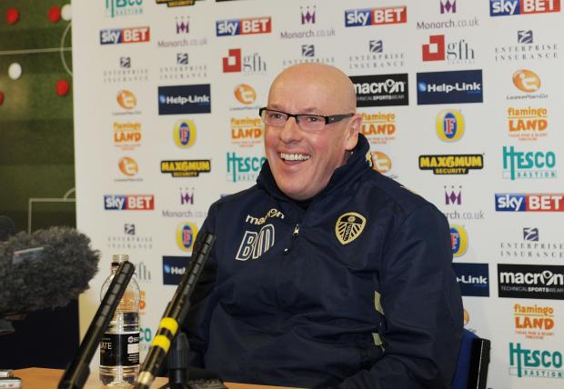 Brian McDermott is looking forward to on-field matters becoming the main priority
