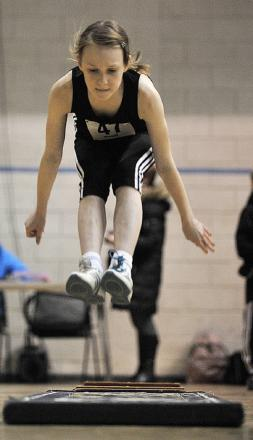 One In A Million School pupil Lucy Tattersfield has qualified for the Yorkshire regional sportshall athletics finals