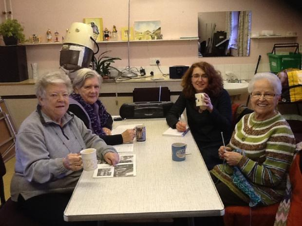 Join group for crafts and chat in Shipley
