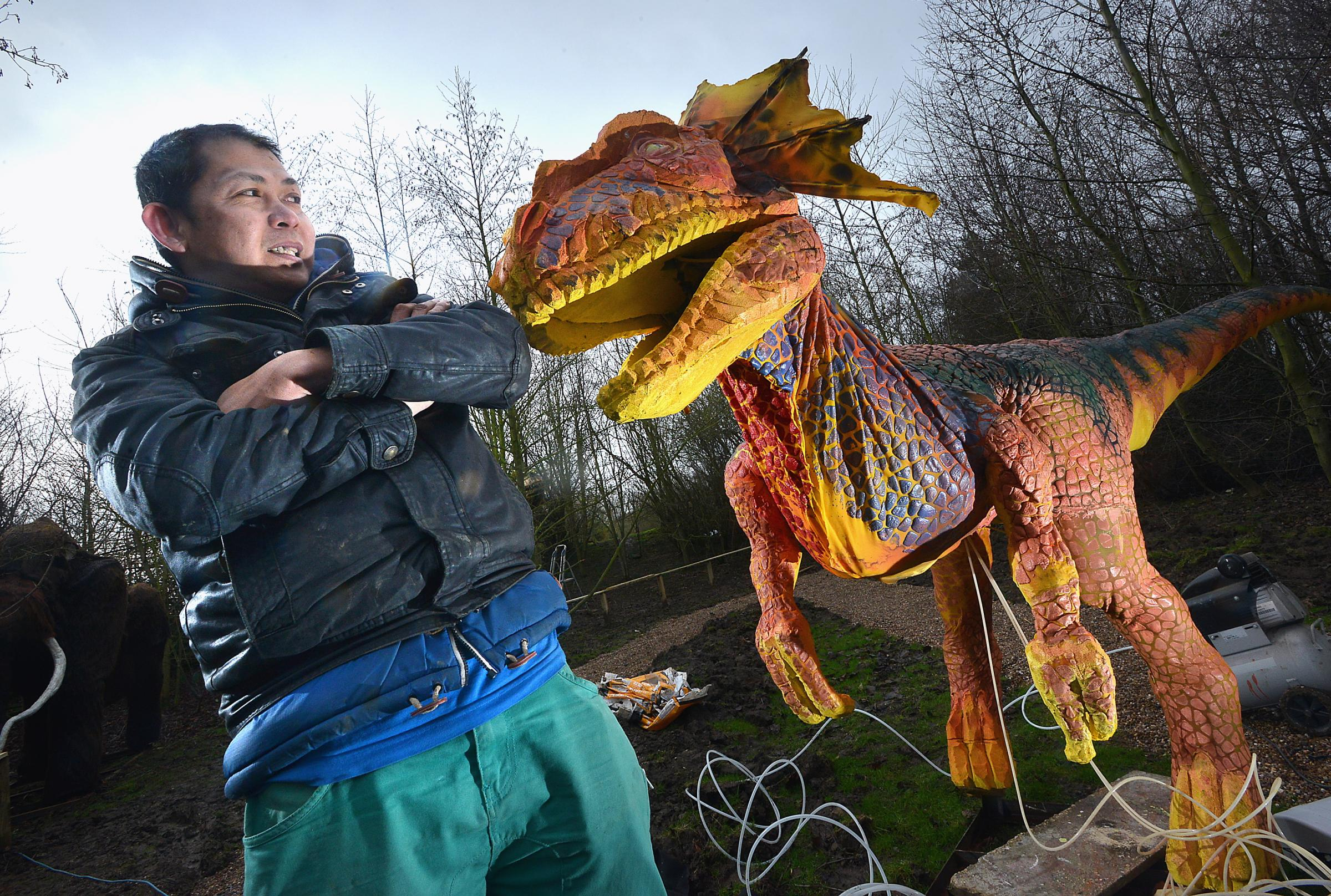 Dinosaur Discovery attraction to be launched at Tong Garden Centre