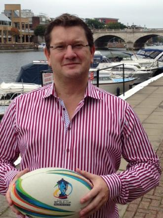 Richard Lamb, chairman and co-owner of Lucid Direct, who has expressed an interest in buying Bradford Bulls