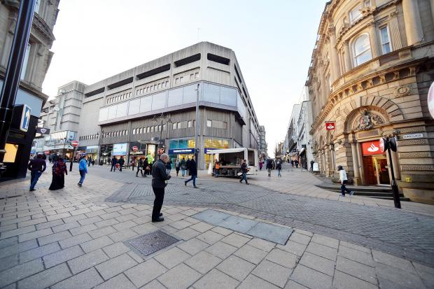 The area at the junction of Kirkgate and Darley Street in Bradford city centre to be revamped