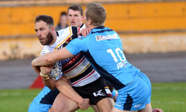Luke Gale in pre-season action for the Bulls