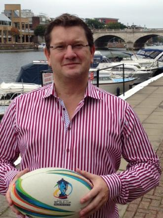 London-based businessman Richard Lamb, who is hoping to buy the Bulls