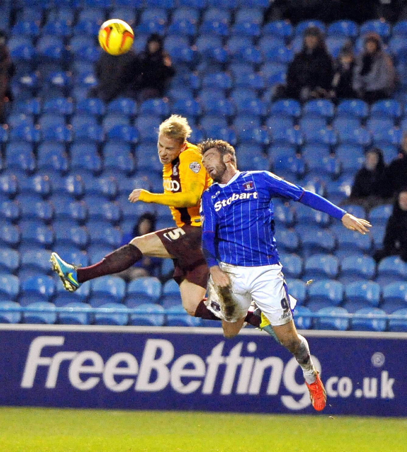 Andrew Davies in action during City's midweek defeat at Carlisle