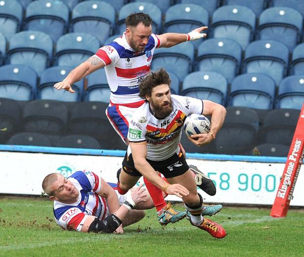 Bradford Telegraph and Argus: Jarrod Sammut says there is enough quality at new club Wakefield and old club Bradford to mean they won't be fighting off relegation