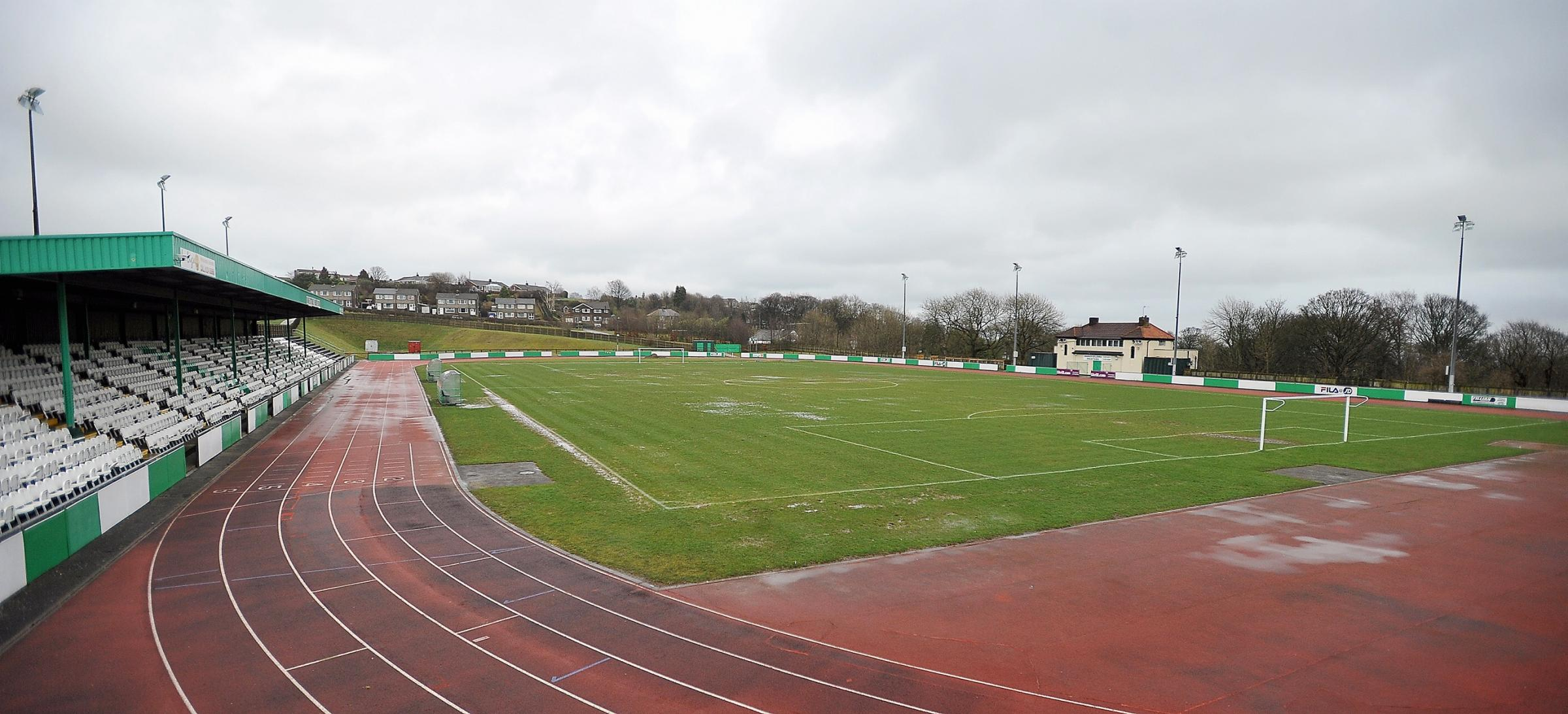 This was the scene at Horsfall Stadium on Saturday as Avenue's match was washed out