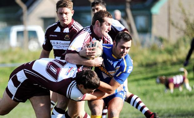 Scott Swann kicked a decisive late penalty for Queensbury