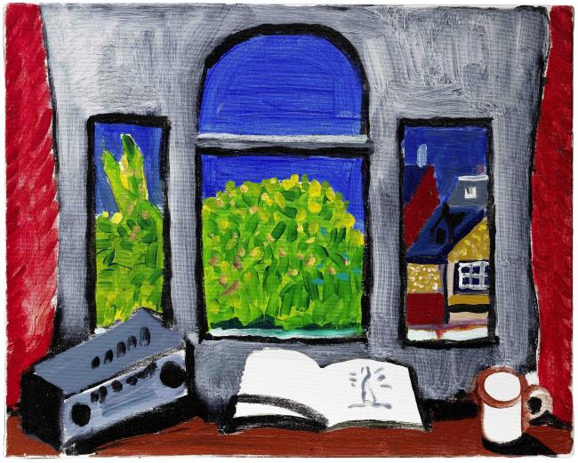 Auction: Hockney's painting Room with a View