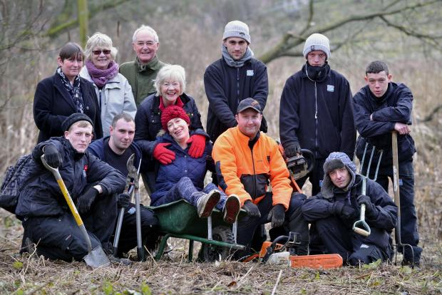 TEAM: Incommunities helped the Hirst Wood Regeneration Group