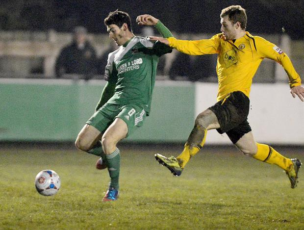 IN CONTENTION: Nathan Hotte, left, is one of four injured Avenue players hoping to return