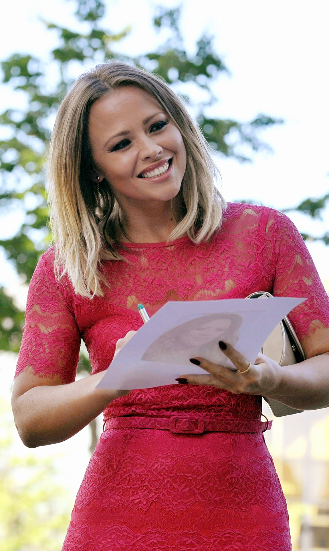Bradford Telegraph and Argus: Kimberley Walsh