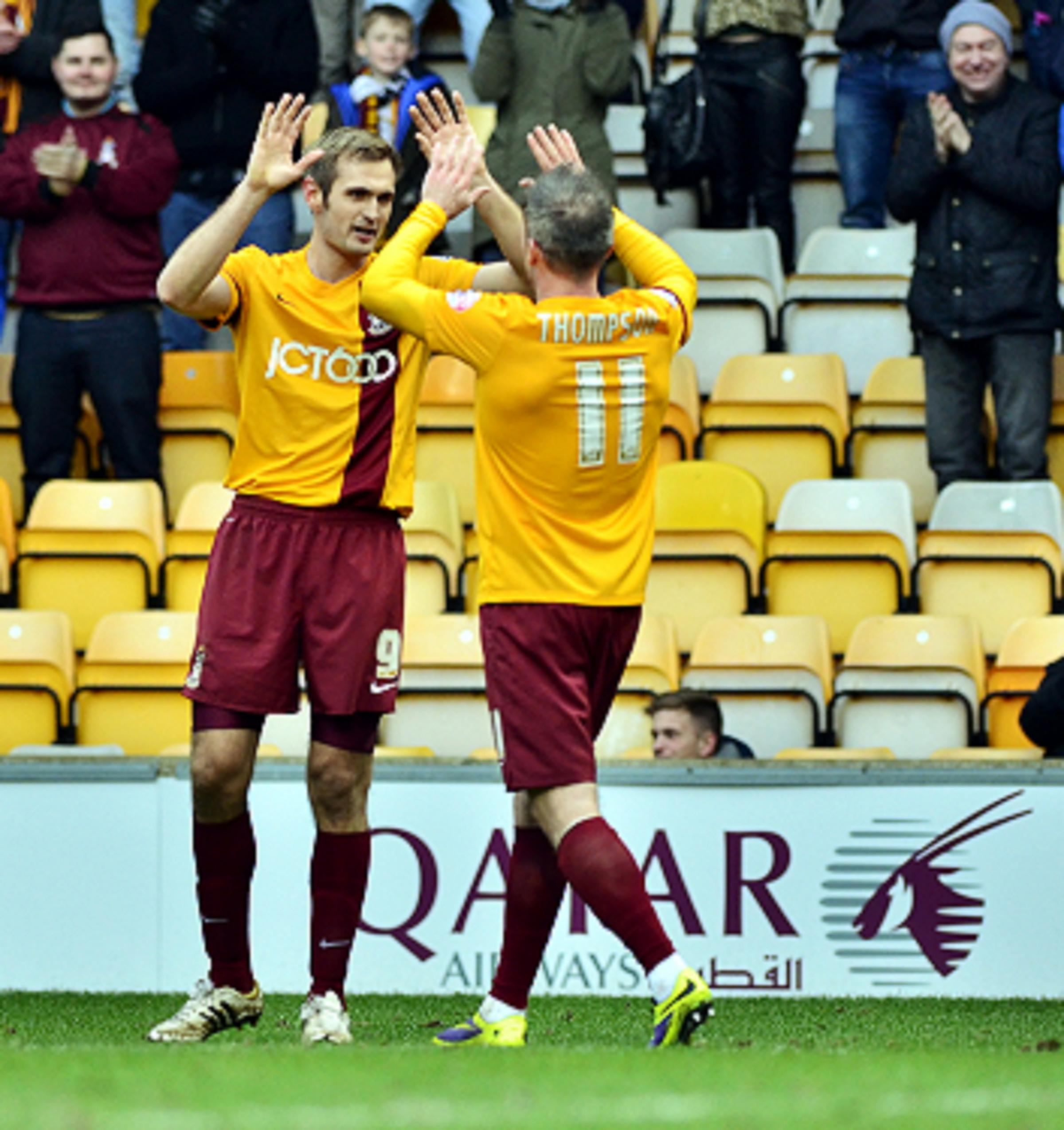 Happy days are here again for Bradford City supporters