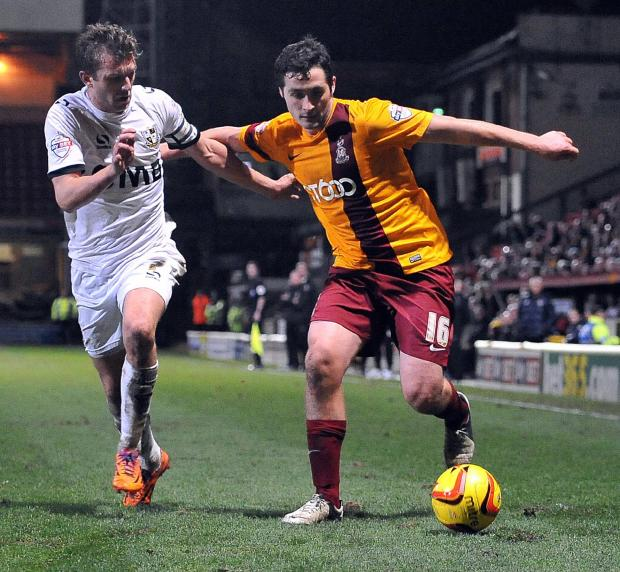 Carl McHugh, pictured, and Matthew Bates may have done all that was asked of them covering for the injured James Meredith but Phil Parkinson is right to continue his search for a recognised left back, according to Wayne Jacobs