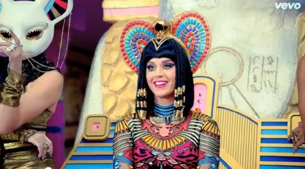A still from the Katy Perry video