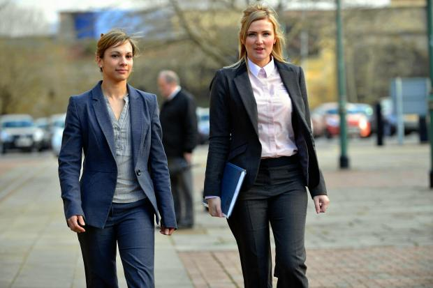 Det Con Priscilla Haigh (left) and PC Jodie Scatchard