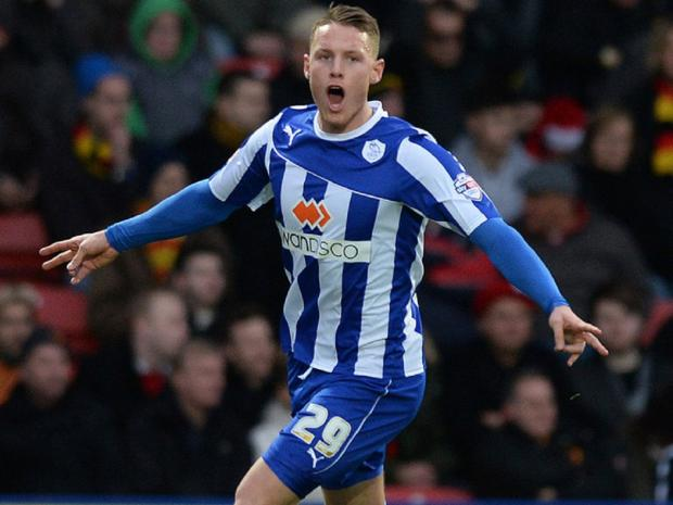 Connor Wickham during his successful spell on loan at Sheffield Wednesday