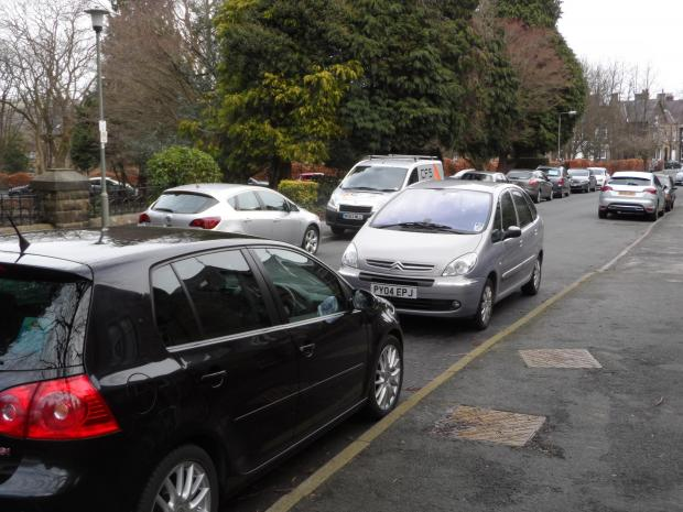 Parking on Grove Road